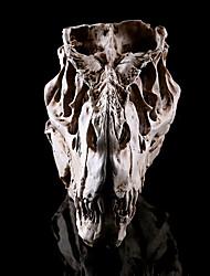 1pc halloween dinosaure tête résine maison du crâne évasion horreur accessoires décorations
