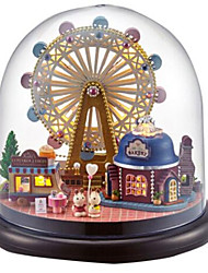 cheap -Balls Music Box Jigsaw Puzzle Model Building Kits Toys DIY Dome House Cartoon Plastics Glass Classic 1 Pieces Not Specified Birthday