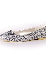 cheap -Women's Shoes Sparkling Glitter Spring Fall Ballerina Flats Flat Heel Closed Toe Sequin For Wedding Party & Evening Silver