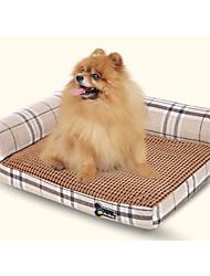 baratos -Roupas para cães Camas Sólido Bege / Marron / Cor Aleatória Gato / Cachorro