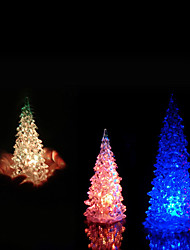 1Pc Luminous Fairy Color Changing Led Night Light Lamp Christmas Tree Ornament