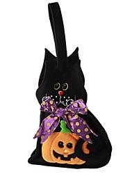 Недорогие -Тыква Сумки и кошельки Хэллоуин Фестиваль / праздник Костюмы на Хэллоуин Черный Мода