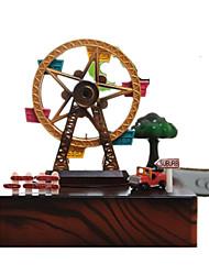 abordables -Petites Voiture Boîte à musique Moulin à vent Moulin à vent Grande roue Rotatif Enfant Adultes Enfants Cadeau Unisexe