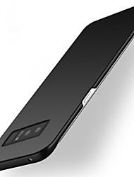 preiswerte -Hülle Für Samsung Galaxy Note 8 Note 5 Mattiert Rückseitenabdeckung Volltonfarbe Hart PC für Note 8 Note 5 Note 4 Note 3
