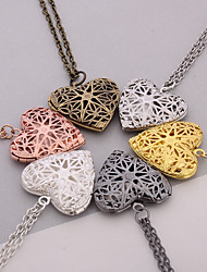 cheap -Women's Pendants Jewelry Heart Silver Plated Heart Handmade Jewelry For Dailywear Casual
