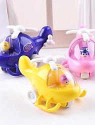 Gioco educativo Macchinina giocattolo Veicoli a molla Aeroplani del giocattolo Macchine giocattolo Aereo Giocattoli Velivolo Auto Non