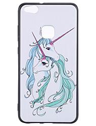 economico -per la cassa del telefono di huawei p10 lite p8 lite (2017) caso tpu del telefono unicorno del modello cassa p10 onore 6x godono 6s