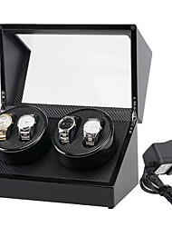 cheap -Watch Boxes Repair Tools & Kits Watch Winder Box leather Watch Accessories 34*20*18 2.0