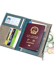 Unisex Tašky Celý rok Hovězina Peněženka na mince Knoflíky Zip pro Večírek Černá Armádní zelená Námořnická modř Hnědá