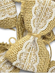 cheap -Wedding / Party / Valentine's Day Material Jute Wedding Decorations Classic Theme / Wedding All Seasons