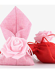 Others Nonwoven Fabric Favor Holder With Flowers Favor Bags-10