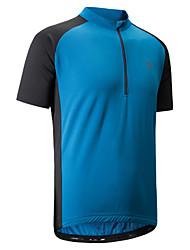 cheap -Cycling Jersey Men's Short Sleeves Bike T-shirt Shirt Sweatshirt Jersey Reflective Strip Anti-Slip Quick Dry Sweat-Wicking Breathability