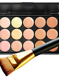 cheap -15 Concealer/Contour Makeup Brushes Wet Matte Shimmer Full Body Women Lady Face Long Lasting Non Toxic Comfortable Fashion Normal