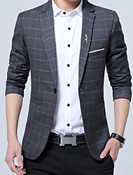 Men's Plus Size Casual Fall Winter Blazer