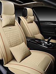 abordables -Automobile Kits de coussin de repose-tête et de taille Pour Universel Couvre Siège de Voiture Appuie-tête de Voiture Coussins de Voiture