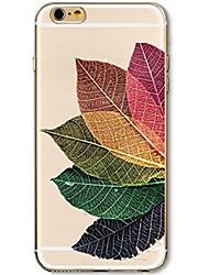 Para iPhone 7 iPhone 7 Plus Case Tampa Ultra-Fina Transparente Estampada Capa Traseira Capinha Árvore Macia PUT para Apple iPhone 7 Plus