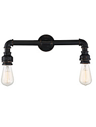 abordables -OYLYW Mini Estilo Rústico / Campestre / Clásico / Simple Lámparas de pared Sala de estar / Dormitorio Metal Luz de pared 110-120V / 220-240V 60 W / E26 / E27