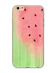 abordables -Funda Para Apple iPhone X iPhone 8 Diseños Funda Trasera Fruta Suave TPU para iPhone X iPhone 8 Plus iPhone 8 iPhone 7 Plus iPhone 7