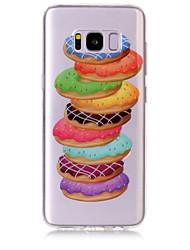 caso per la ss galassia samsung s8 più cassa del telefono cellulare tpu materiale donuts modello hd cassa del telefono s7 bordo s7 s6 bordo s6 s5