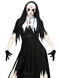 abordables -Bloody Mary Robes Adulte Halloween Le jour des morts Fête / Célébration Déguisement d'Halloween Rétro