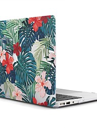 abordables -MacBook Funda para MacBook Air 13 Pulgadas MacBook Air 11 Pulgadas MacBook Pro 13 Pulgadas con Pantalla Retina Árbol Flor TPU Material