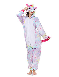 Kigurumi Pajamas Flying Horse Festival/Holiday Animal Sleepwear Halloween Fashion Embroidered Flannel Fabric Cosplay Costumes Kigurumi For