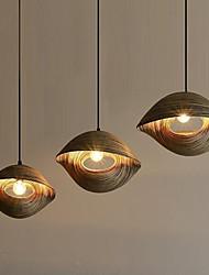 Bambou Shade Art designer style lustre créatif illuminé éclairage restaurant bar