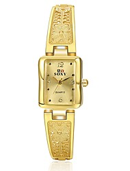 abordables -Mujer Simulado Diamante Reloj Reloj creativo único Reloj de Moda Chino Cuarzo Gran venta Aleación Banda Mariposa Plata