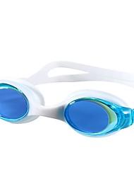 Óculos de Natação Óculos de Natação Protecção Exterior Gel Silica PC Branco