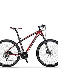 Mountain Bike Cycling 27 Speed 27.5 Inch SHIMANO M370 Disc Brake Suspension Fork Steel Frame Carbon Anti-slip Aluminium AlloyCarbon Fiber