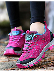 Hiking Shoes Mountaineer Shoes Women's Anti-Slip Wearable Breathability Leisure Sports Tulle Rubber Hiking Running