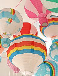 1Pcs 30Cm Hot Air Balloon Wedding Decoration Children's Bedroom Hanging Decorations Random Design