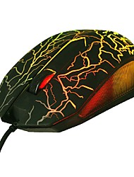 LED Colorful Game Home Office Computer Wired Mouse