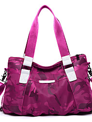cheap -Women Bags Canvas Tote Zipper for Casual Office & Career All Seasons Blue Black Purple Fuchsia