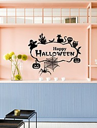 cheap -Animals Words & Quotes Holiday Wall Stickers Plane Wall Stickers Decorative Wall Stickers, Vinyl Home Decoration Wall Decal Wall Window