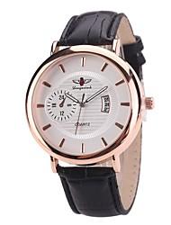 cheap -Women's Dress Watch Fashion Watch Wrist watch Chinese Quartz Calendar / date / day PU Band Charm Casual Elegant Black Brown