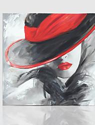 Pintados à mão Vida Imóvel Modern 1 Painel Tela Pintura a Óleo For Decoração para casa