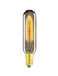 1pcs T10 E14 40W Vintage Bulb Incandescent Bulb Retro Edison Bulb For Living Room AC220-240V