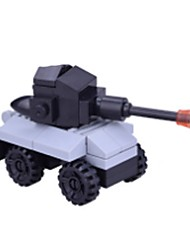 cheap -Building Blocks Vehicles / Tank / Chariot Simple Tank Gift