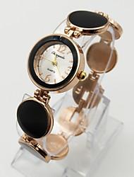Mulheres Relógio de Moda Bracele Relógio Relógio Casual Quartzo Lega Banda Pontos Casual Branco