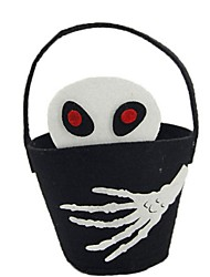 cheap -Skeleton / Skull Bags and Purses Halloween Festival / Holiday Halloween Costumes Black Fashion