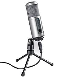 Недорогие -ATR2500 USB Микрофон Конденсаторный микрофон Ручной микрофон Назначение ПК