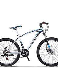 Mountain Bike Cycling 21 Speed 26 Inch/700CC SHIMANO Disc Brake Suspension Fork Steel Frame Carbon Anti-slip Aluminum Alloy Carbon Steel