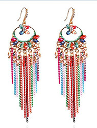 Women's Drop Earrings Tassel Bohemian Alloy Jewelry For Gift Daily Casual Holiday Going out