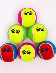 abordables -Balle Tennis Coton Pour Jouet pour Chat / Jouet pour Chien