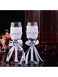 Glass Toasting Flutes Gift Box Toasting Flutes Wedding Reception