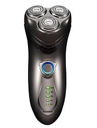 flyco fs351 rasoir électrique rasoir 100240v corps lavable led indicateur de charge de puissance