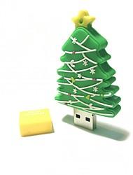32gb natal usb flash drive cartoon criativo árvore de natal presente de natal usb 2.0
