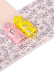 preiswerte -1 Glitzer Muster Zubehör Art déco/Retro 3D Nagel Sticker Aufkleber Bastelmaterial Karton 3-D Modisch Alltag Gute Qualität