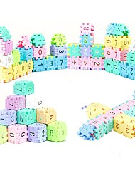 cheap -Educational Flash Cards Building Blocks Math Toys Toys DIY Rectangular ABS Pieces Not Specified Kids Gift
